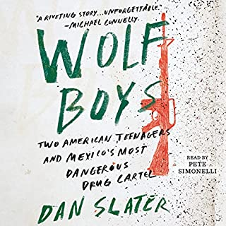 Wolf Boys audiobook cover art