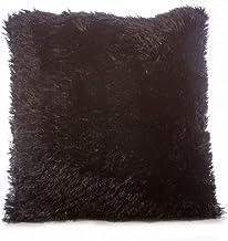Taraf Black 45 X 45 Cm Velour Cushion
