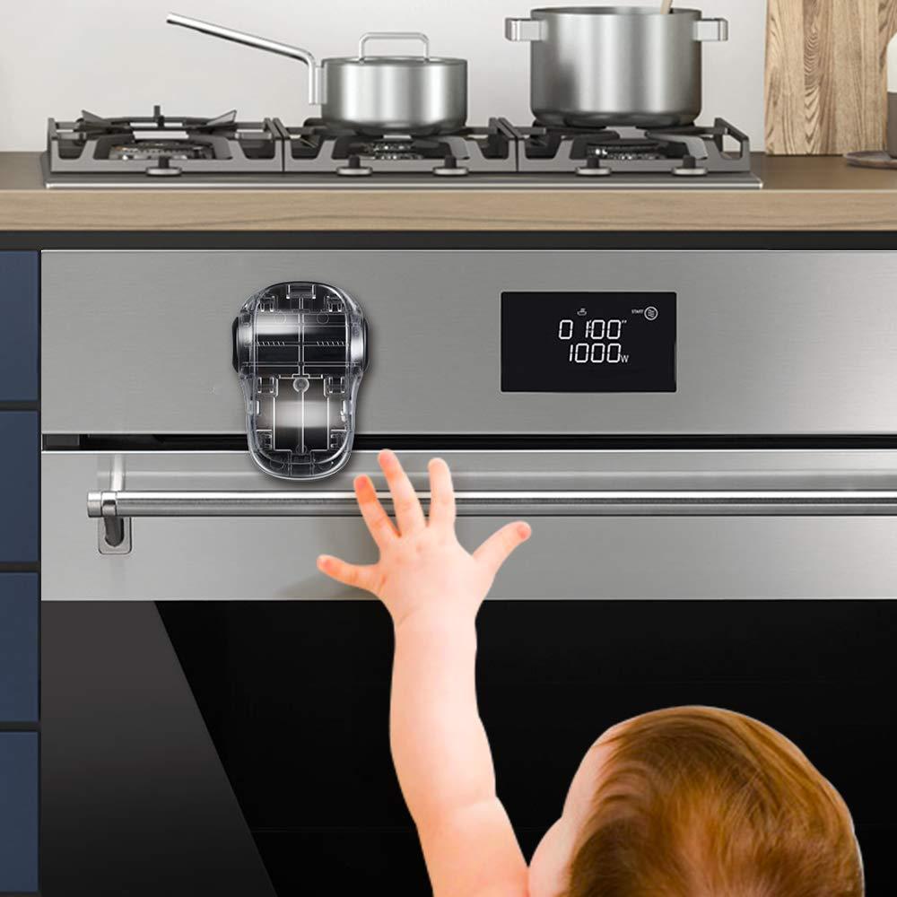EUDEMON Child Safety Heat-Resistant Oven Door Nashville-Davidson Mall L Front Lock Ranking TOP9