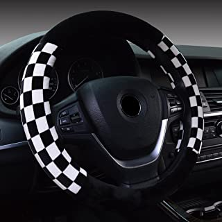 Universal Fit Plush Car Steering Wheel Cover 38CM/15