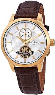 Lucien Piccard Open Heart GMT Automatic Men's Watch LP-28007A-YG-02SBRW