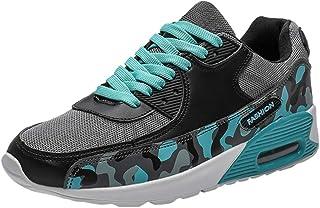 Yowablo Wanderhalbschuhe Trekking Herren Outdoor Camouflage Sportschuhe Atmungsaktive Laufschuhe Bergsteigen Sneakers