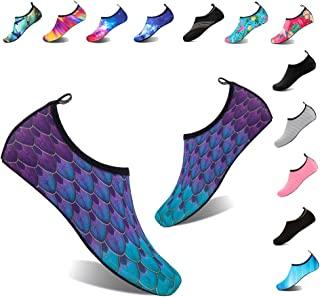 YALOX Water Shoes Women's Men's Outdoor Beach Swimming...