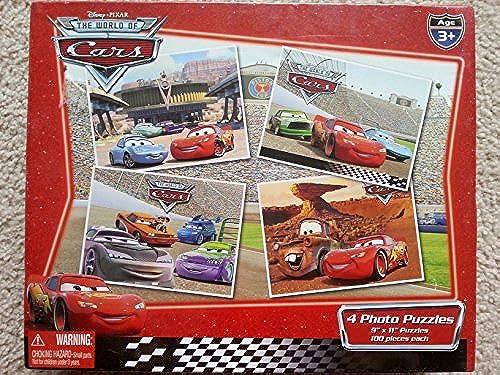 Los mejores precios y los estilos más frescos. Disney Pixar the World of Cars Cars Cars 4 Photo Puzzles by  4Kidz, Inc.   edición limitada