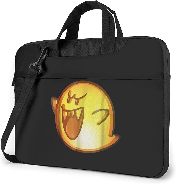 Super Mario Boo Face Laptop Large-scale sale Carryi Durable Computer Shoulder Great interest Bag