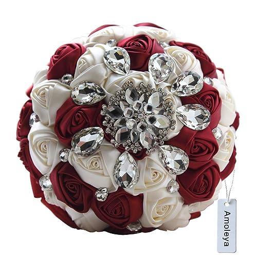 Whole Foods Wedding Bouquet: Burgundy Wedding Bouquets: Amazon.com