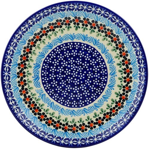 latest Polish Pottery 7½-inch Dessert Plate The Selling Spring Country Trip