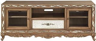 TV Armoire, Meubles de salon Meubles en bois massif Cabinet de rangement en bois massif Cabinet de télévision en bois mass...