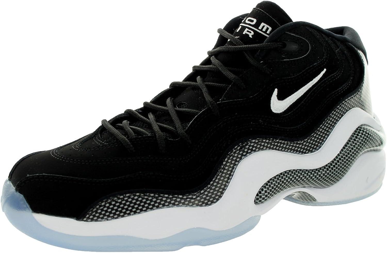 Nike Men's Air Zoom Flight 96, Black White