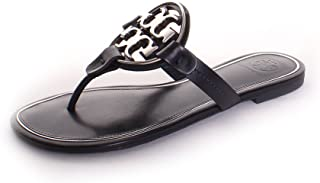 fad91e96cb49 Tory Burch Metal Miller Sandal in Perfect Navy Silver