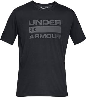 تي شيرت رجالي ماركة Under Armour بأكمام قصيرة