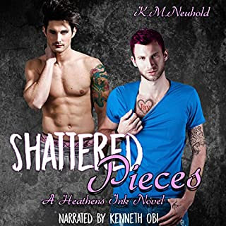 Shattered Pieces audiobook cover art