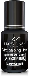 Eyelash Extension Glue – Extra Strong Hold, Professional Grade Eyelashes Black..