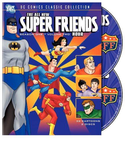 The All-New Super Friends Hour - Season 1, Vol. 2 (2 DVDs)