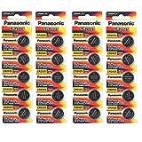 Panasonic CR2025 3 Volt Lithium Coin Battery (4 Packs of 5)