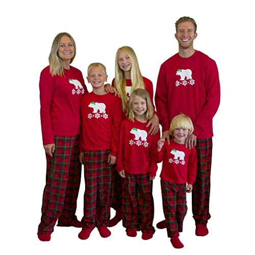 cc292a0f06 Mad Dog Concepts Matching Set Family Christmas Holiday PJ Pajamas Red