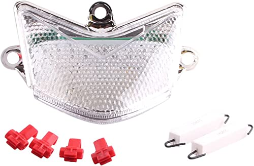 discount Mallofusa Motorcycle Integrated Taillight LED Brake Tail Light Compatible popular for KAWASAKI NINJA ZX-10R 2004 2005 discount Clear Len outlet sale