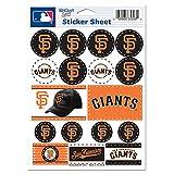 WinCraft MLB San Francisco Giants Vinyl Sticker Sheet, 5' x 7'