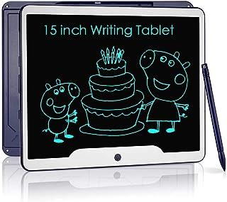 NOBES Ardoise Magique,Tablette d'écriture LCD 15 Pouces,Grande Tableau de Dessin Effaçable Enfants, Créatif Jouet Educatif...