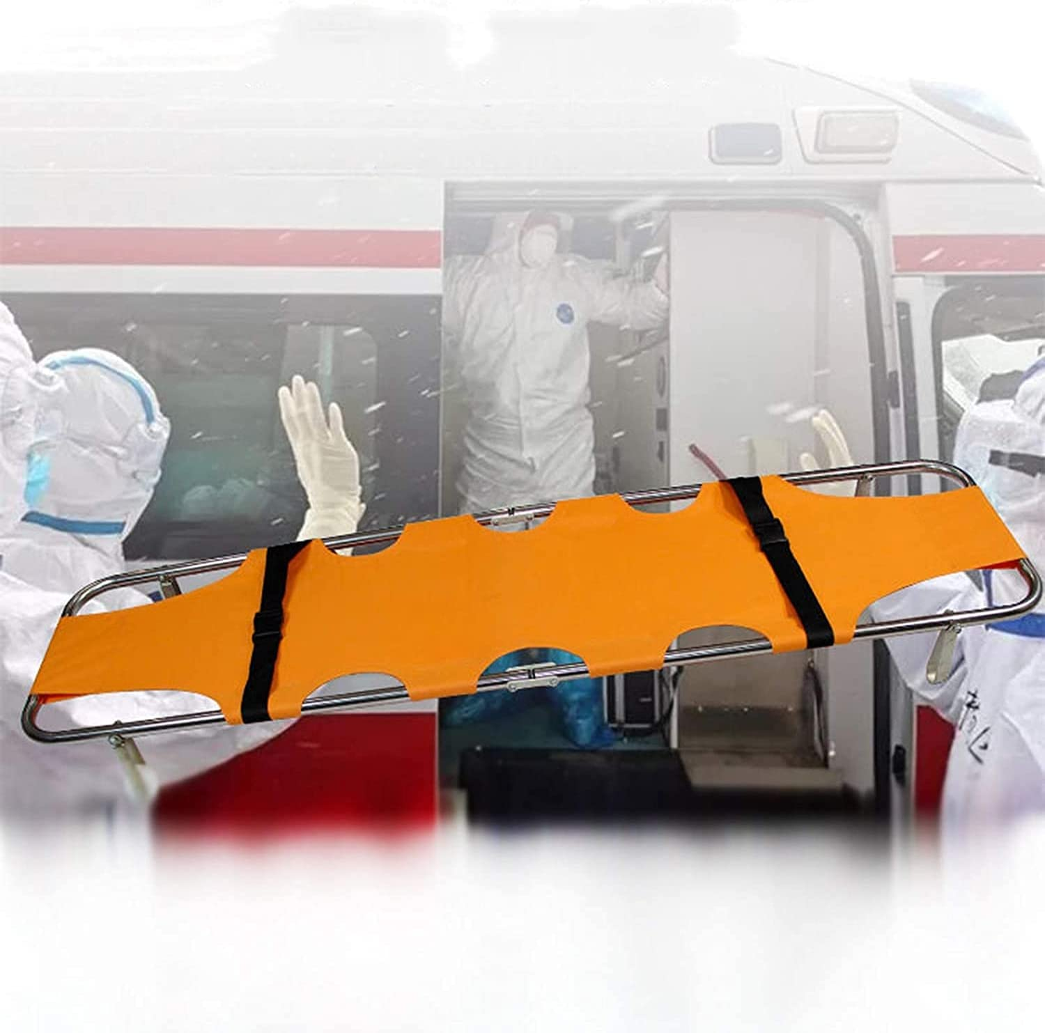 Portable Stretcher Emergency Multi-Purpose free Recommended Rescue Hom