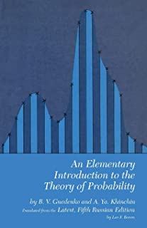 An Elementary Introduction to the Theory of Probability