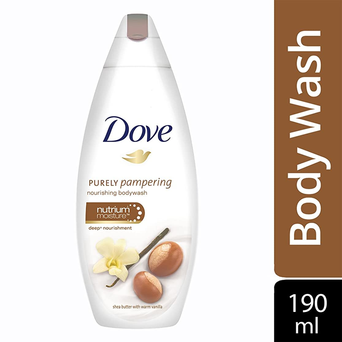 聖なる恋人用心するDove purely pampering Shea Butter and Warm Vanilla Body Wash, 190ml