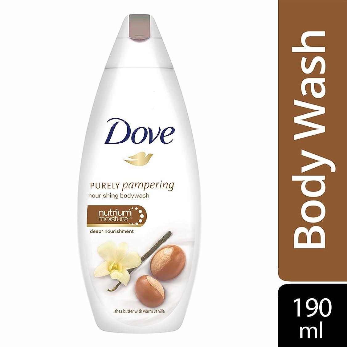 セーブ好きであるファンネルウェブスパイダーDove purely pampering Shea Butter and Warm Vanilla Body Wash, 190ml