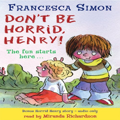 Don't Be Horrid, Henry! audiobook cover art