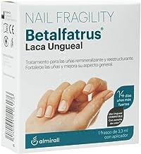 Betalfatrus, Laca Ungueal - Tratamiento para las unas remineralizante y reestructurante, 1 Frasco de 3.3 ml con aplicador