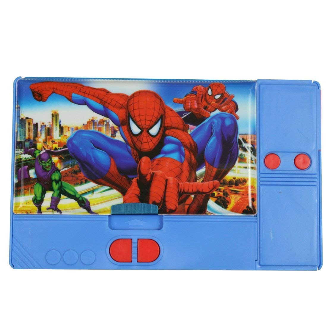 Mistazzo Kids Kiku Ultimate Spiderman Multi-Purpose Pencil Box