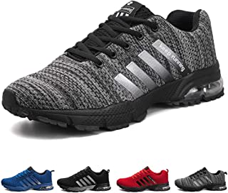 ziitop Men's Running Shoes Lightweight Breathable Air Cushion Sneakers Casual Athletic Walking Shoes for Men