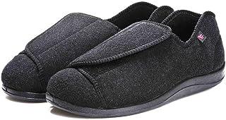 Chaussures Confortable pour Pieds Gonflés,Chaussures gonflées aux pieds lâches et gras, plus chaussures ajustables en velo...