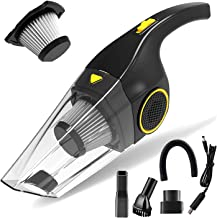 Handheld Vacuum Cordless 7000PA Vacuum Cleaner Powerful Suction 23mins Runtime Lightweight Rechargeable Car Vacuum Cleaner...