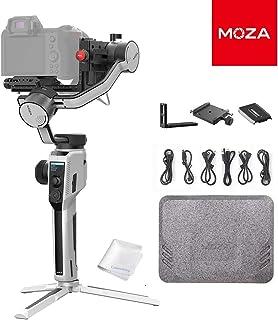 MOZA Aircross 2 スタビライザー ジンバル カメラ専用 Arca Swissクイックリリースプレート付き スマホホルダー付き 一眼レフ ミラーレスカメラ対応 最大3.2KGまで負荷 タイムラプス撮影自動調節 スマートホイール 3軸...