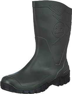 Dunlop Bottes en Caoutchouc Homme - Vert - Vert olive- 47 EU