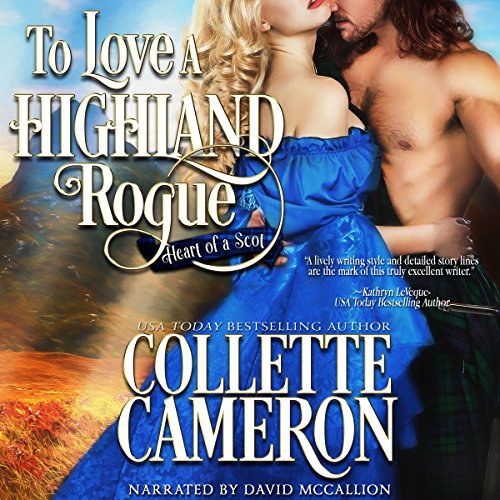 To Love a Highland Rogue audiobook cover art