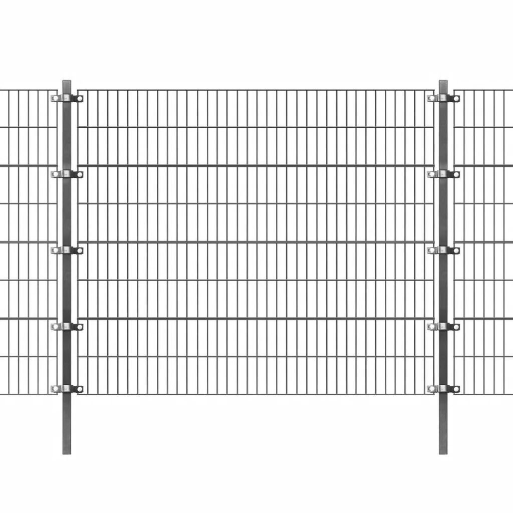 Festnight Panel de Valla de Jardin Metalica 6 x 1.6 m (Longitud x Altura): Amazon.es: Hogar