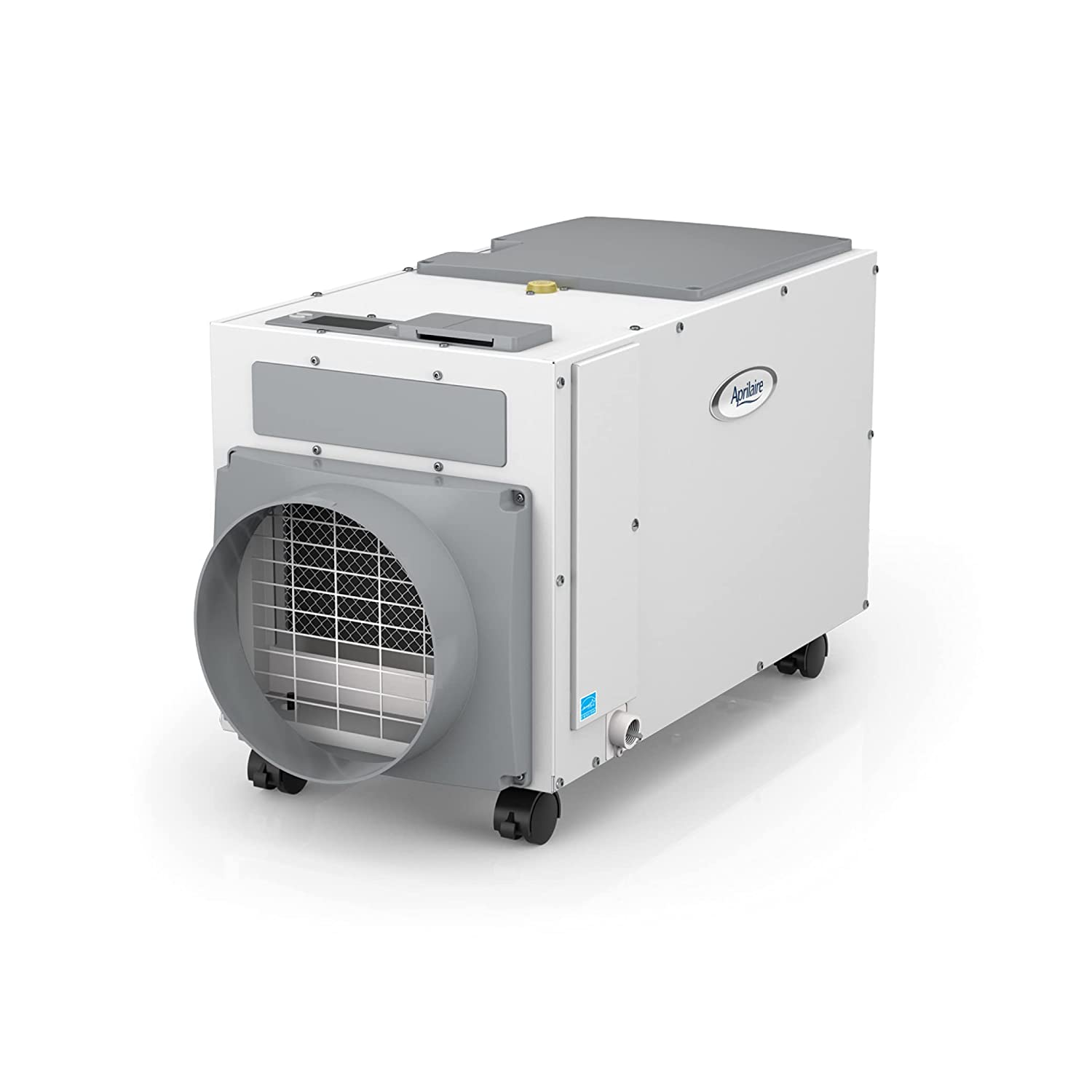 Aprilaire E100C Pro 100 Pint Dehumidifier with Casters for Crawl Spaces, Basements, Whole Homes, Commercial up to 5,500 sq. ft.