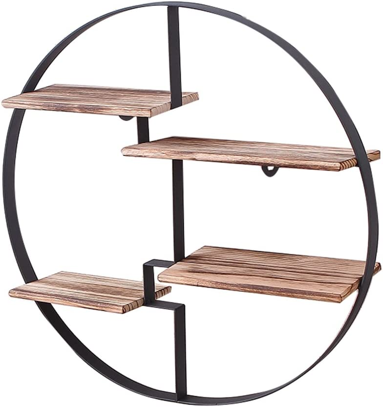 XingKunBMshop Don't miss the campaign Storage Shelf Partition S Retro Rack Outstanding Wall