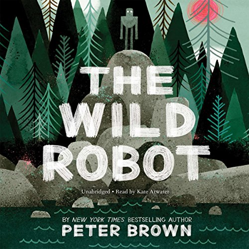 The Wild Robot audiobook cover art