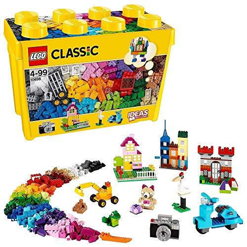 LEGO Classic 10698 Große kreative Bausteine-Box, Spielzeugaufbewahrung