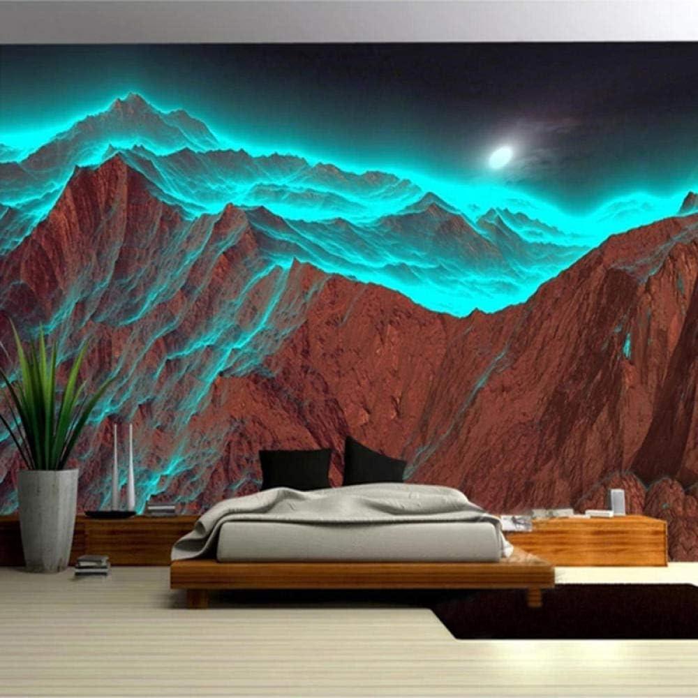 Las Vegas Mall Custom 3D Ranking TOP6 Wallpaper Modern Art Mural Landscape P Nature Mountain