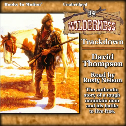 Trackdown audiobook cover art