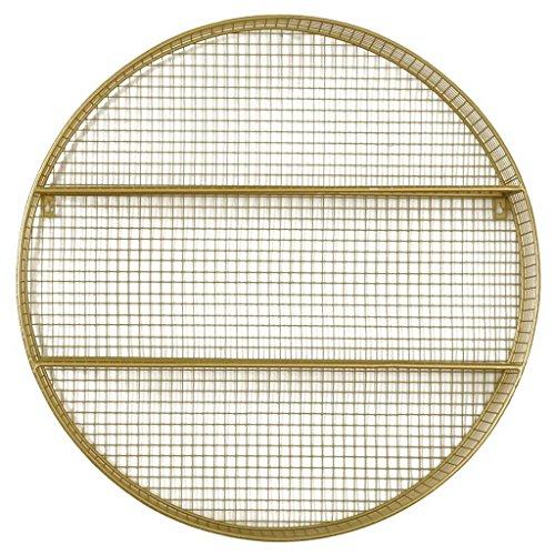 Metal Circle Shelf Gold - Pillowfort™