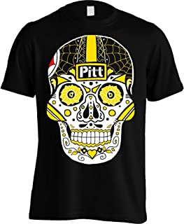 Pittsburgh Sugar Skull Shirt - Men's