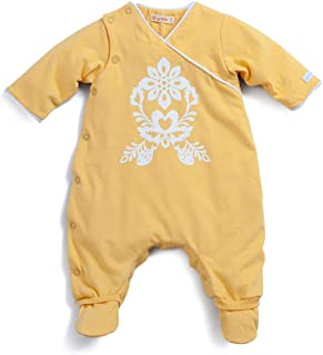 Macacão Pomar Amarelo - Recém Nascida