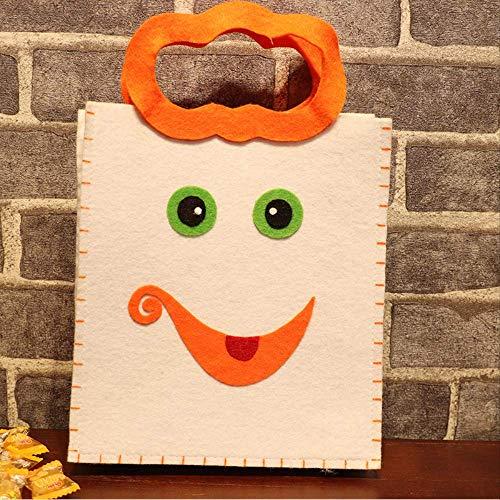 Accessoires voor Halloween-decoratie, accessoires voor bonbons, handtas, voor kinderen H (En)