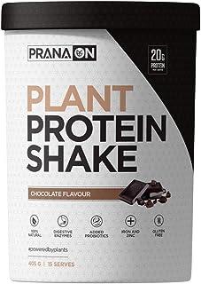 Prana On Chocolate Plant Protein Shake, Chocolate, 405 grams