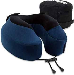 Cabeau Evolution S3 Travel Pillow, Memory Foam Airplane Neck Pillow for Travel, Home, Office, Neck Pain, Gaming, Breathable & Machine Washable Soft Cover, 360-Degree Neck & Chin Support