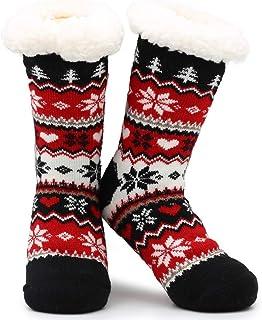 Calcetines de la zapatilla Novedad 3D Animal lindo de punto Zapatillas extra cálidas Súper Suave lana de invierno